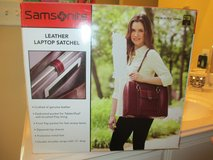 leather laptop satchel in Conroe, Texas