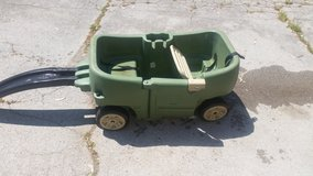 Step 2 wagon with trailer in Fort Campbell, Kentucky