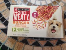 Purina moist & meaty burger 7 pouches in Clarksville, Tennessee