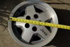 "15"" Jeep Rims (4) in Dickson, Tennessee"