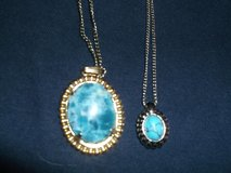TWO  SIMULATED TURQUIOSE NECKLACES in Alamogordo, New Mexico