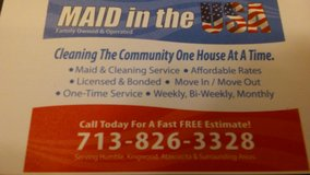 MAID IN THE USA in Houston, Texas