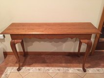 Couch Table, Console Wood Table in Naperville, Illinois