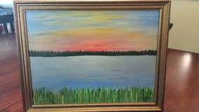 Oil Painting of the Broad River in Beaufort, South Carolina