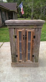 Rustic cabinet in Spring, Texas