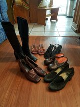 6 Pairs of Shoes/Boots Lot 3 in Naperville, Illinois