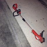 Black & Decker Battery Operated Weed Eater in Beaufort, South Carolina