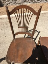 Wood chairs in Alamogordo, New Mexico