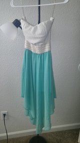 High low dress in Fort Carson, Colorado
