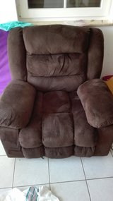 Brown recliner in Ramstein, Germany