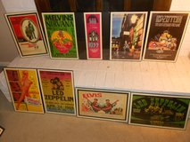 Collection Rock,Music,Movie Framed Posters in Virginia Beach, Virginia