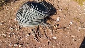 Large bundle of fenceing cable. exllent for horse fence. in Alamogordo, New Mexico