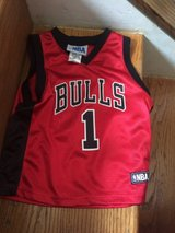 Cute Girls Bulls Jersey size 3T in Batavia, Illinois