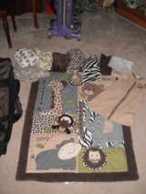 Animal Print Crib Set in Morris, Illinois