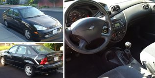 2001 Ford Focus SE - Well Maintained, Reliable, Manual Trans in Vacaville, California