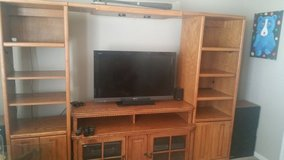 Large entertainment center. in Baytown, Texas