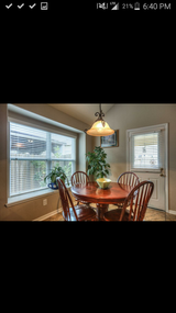 Round Breakfeast table and 4 chairs in Baytown, Texas