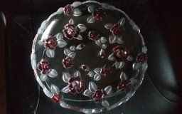 Lead Rose Serving Tray in Conroe, Texas