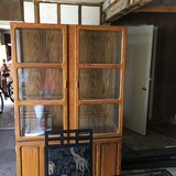 Reduced China Cabinet in Sugar Land, Texas