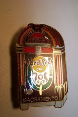 Vintage Hard Rock Cafe Pin (Sacramento) from 1972 in Westmont, Illinois