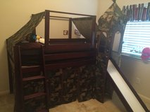 Boys bunk bed with mattress in Katy, Texas