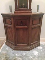 Small solid wood China cabinet in Katy, Texas