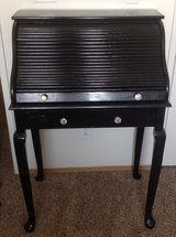 Small black roll top desk in Temecula, California