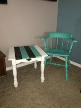 Small table & matching chair in Houston, Texas