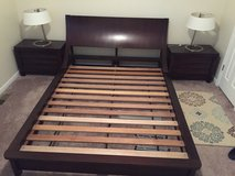 5-piece Queen Bedroom Set + Bonus - Dark Brown Espresso in Kansas City, Missouri