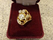 Swirl Vintage Diamond Ring in St. Charles, Illinois