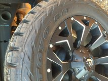 20x9 Fuel Assault Wheels and Toyo Open Country R/T 33 inch Tire Combo in Fort Polk, Louisiana