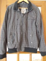 """Mens Jacket size Large by Burtons dark grey check chest 41"""" - 44"""" in Cambridge, UK"""