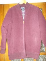 Mens Fleece Jumper Jacket size small by James Pringle padded in Cambridge, UK