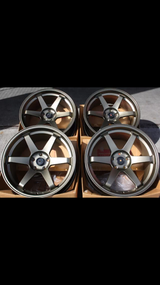 19x9.5 ET33 5x114.3 wheels+tires in Aviano, IT