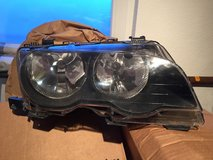 BMW Convertible E46 head light in Ramstein, Germany