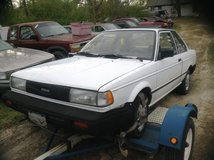 Parting Out 1990 Nissan Stanza Parts Car in Camp Lejeune, North Carolina
