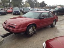 Parting Out 1990 Pontiac Gran Prix for Parts Only in Camp Lejeune, North Carolina