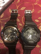 2 GREAT condition G Shock watches in Hinesville, Georgia