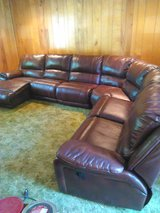 leather sectional sofa in Beaufort, South Carolina