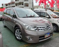 *SALE!* 2007 Nissan Presage * 7 Seater w/ 3rd Row Option * Rear A/C, SPACIOUS* Brand New JCI* in Okinawa, Japan
