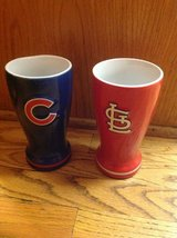 Ceramic Pilsner- Cubs/Cardinals- NEW in Naperville, Illinois