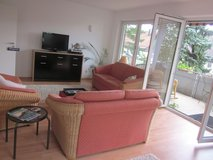 10 minutes to Patch and 5 minutes to Panzer, apartment Sindelfingen close Goldberg S-Bahn balcony in Stuttgart, GE