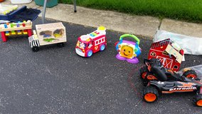 Various kid toys and games in Bartlett, Illinois
