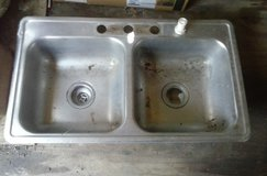 Stainless Double Sink in Fort Polk, Louisiana