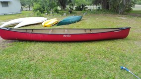 Old Town Canoe in Beaufort, South Carolina