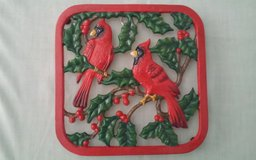 Cardinals Pot Holder in Conroe, Texas