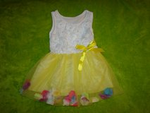3T Yellow Flower Petal Dress in Alamogordo, New Mexico