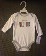 NWT Carter's Little Brother Onsie in Sandwich, Illinois