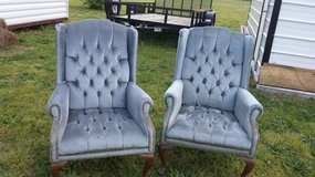 2 wing back chairs in Macon, Georgia