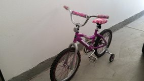 girl bicycle in Lake Elsinore, California